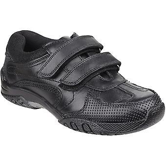 Hush Puppies niños Junior Jezza resistente acolchada confort Casual zapatos