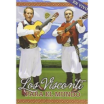 Visconti Los - Para El Mundo En Vivo [DVD] USA import