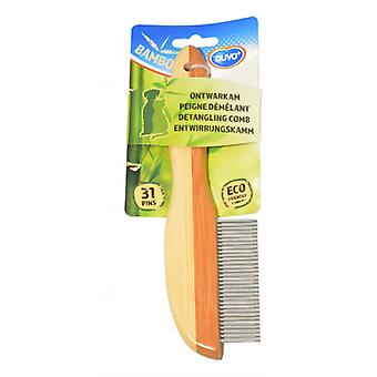 Duvo Bamboo Peine 31 Puas (Dogs , Grooming & Wellbeing , Brushes & Combs)