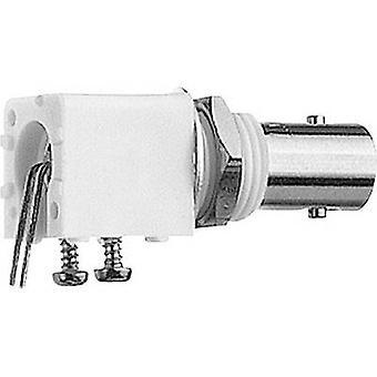 Connettore BNC presa, orizzontale montare 50 Ω Telegärtner J01001A0037 1/PC