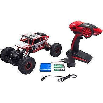 Amewi 22195 Conqueror 1:18 RC model car for beginners Electric Crawler 4WD