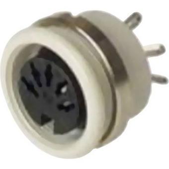 Conector Hirschmann 930 954-517-1 DIN, vertical vertical Número de pinos: 6 Cinza 1 pc(s)