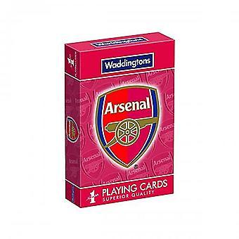 Arsenal Fc joukko 52 kortin pakalla