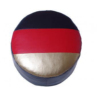 Asiento amortiguador asiento taburete muebles taburetes alrededor de imitación de cuero 34 x 50 x 50 Alemania