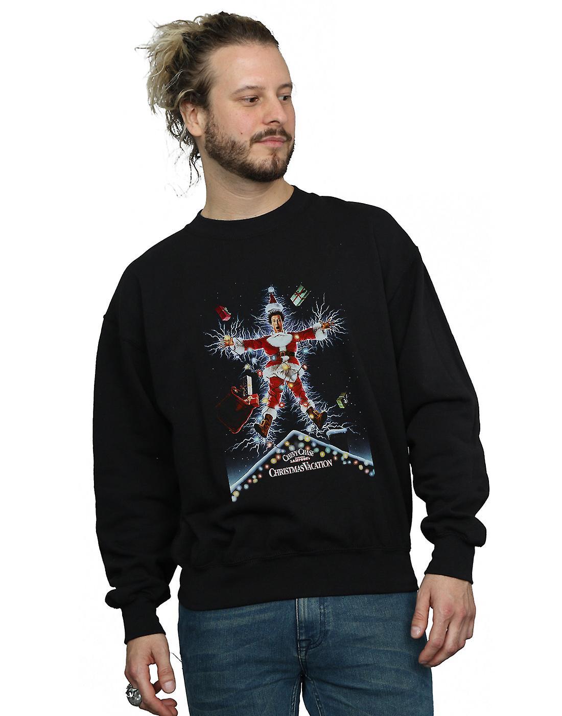 National Lampoon's Christmas Vacation Men's Poster Sweatshirt