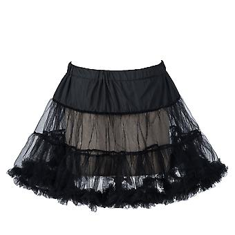 "18"" 50s Retro Underskirt Underdress Petticoat Rock Tutu Black, White, Red, Blue"