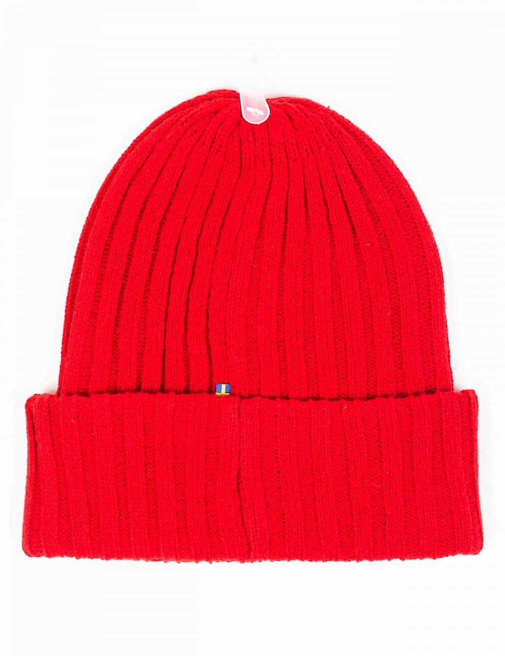 Fjallraven Byron Beanie Hat - Red