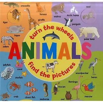 الحيوانات (كتاب عجلة)-تشغيل العجلات-العثور على الصور التي لو يان