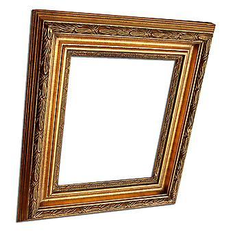 30x40 cm oder 12x16 Zoll, gold Rahmen