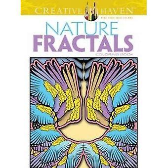 Haven créatif Nature fractales Coloring Book (livres à colorier créatif Haven)