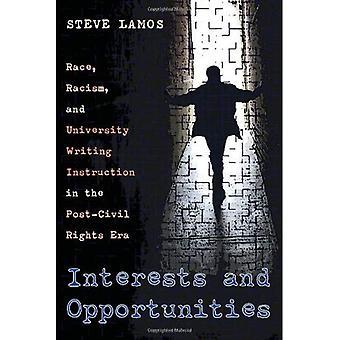 Interesses e oportunidades