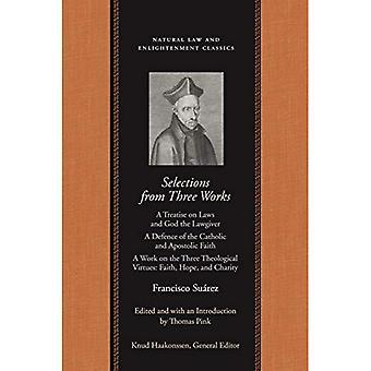 Selections de trois œuvres de Francisco Suarez, SJ (supprimer)