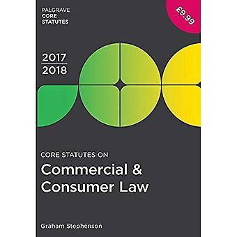 Core Statutes on Commercial� & Consumer Law 2017-18 (Palgrave Core Statutes)