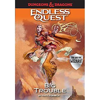 Mazmorras & dragones: Grandes problemas: un libro de búsqueda interminable (Endless Quest)