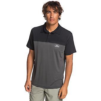 Quiksilver Waterman paddle Runner Polo shirt em preto