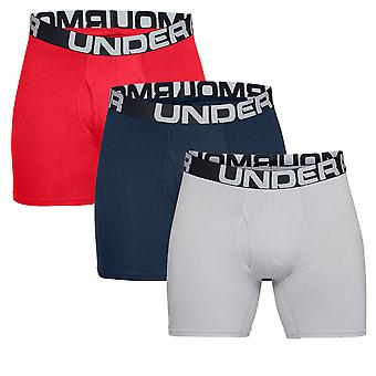 Under Armour Charged Cotton 6in Boxerjock (3 Pack) - SS20