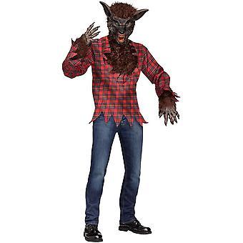 Werewolf Brown Kit Adult