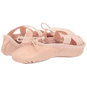 Kids Leo Girls Ensemble Leather Slip On Ballet Flats