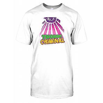 Tænkte Criminal - sammensværgelse børn T Shirt
