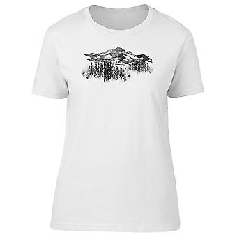 Forest And Mountains  Tee Men's -Image by Shutterstock