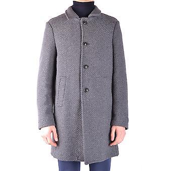 Massimo Rebecchi Ezbc214011 Men's Grey Wool Coat