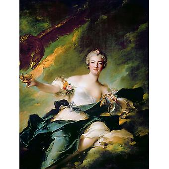 The Duchesse D-Orleans as Hebe, Jean Marc Nattier, 50x38cm