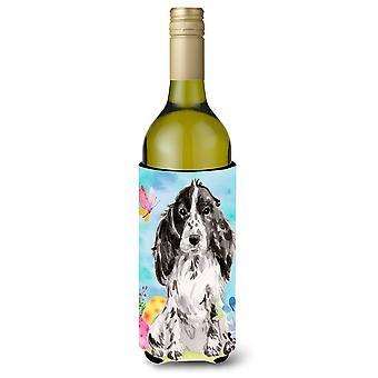 Preto parti Páscoa garrafa de vinho Beverge isolador hugger