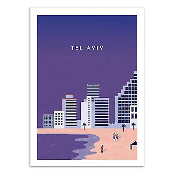 Art-Poster - Tel Aviv - Katinka Reinke