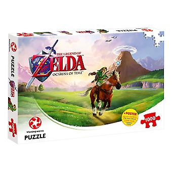 The Legend of Zelda Ocarina of Time 1000 Piece Jigsaw Puzzle