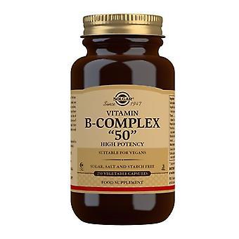 سولغار صيغة فيتامين ب معقدة 50 \ Vegicaps 250 (1122)