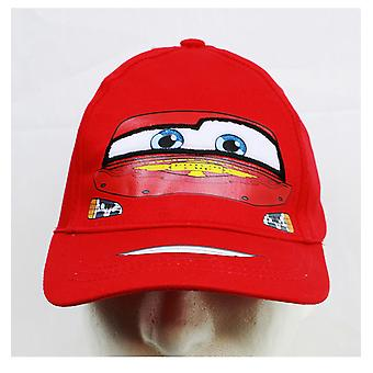 Baseball Cap - Disney - Cars McQueen Face Red (Youth/Kids) New CAR146-B