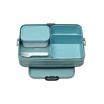 Rosti Mepal Large Bento Lunch Box, Nordic Green