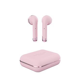ΚΑΛΉ ΒΎΣΜΑΤΑ αέρα πραγματικά ασύρματα ακουστικά-ροζ χρυσό