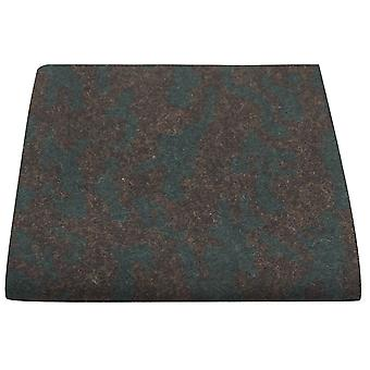 Luxury Persian Dark Teal Pattern Pocket Square, Handkerchief