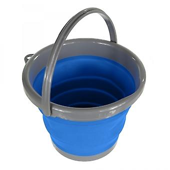 Regatta 5L Folding Bucket Oxford Blue