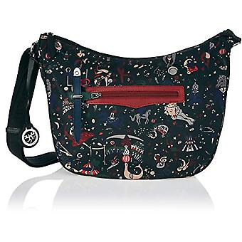 piero drive Messenger Black Woman Crossbag (Urban) 32.0x28.0x12.0 cm (W x H x L)