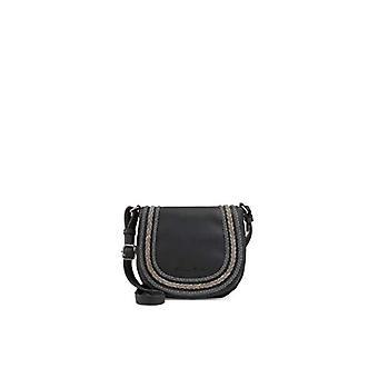 Fritzi aus Preussen GRETA Black Woman shoulder bag (Black 1/Wales)) 6.5x19x20.5 cm (B x H x T)