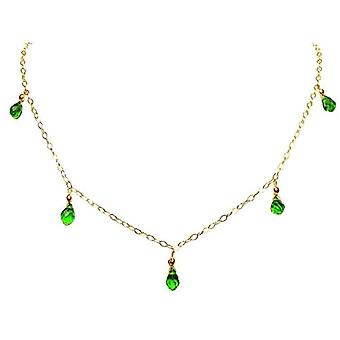 Gemshine Gold-plated Woman Pendant Necklace - Cbperio