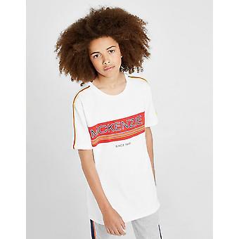 Nuovi McKenzie Boys' Apollo T-Shirt Bianco
