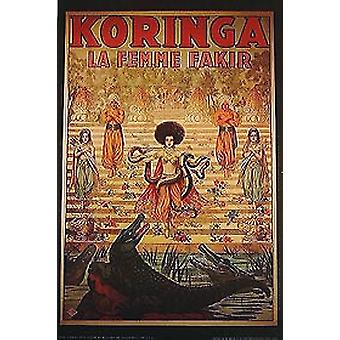 Koringa (Single Sided Art Print) Oryginalny plakat kinowy