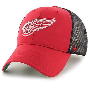47 fire Adjustable Cap - BRANSON Detroit Red Wings Red