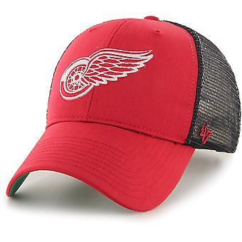 47 Brand Adjustable Cap - BRANSON Detroit Red Wings rot