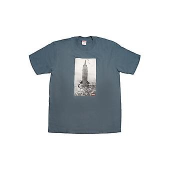 Supreme Mike Kelley The Empire State Building Tee - Slate - Clothing