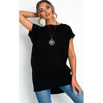 IKRUSH Womens Nancy Overd T-Shirt Dress