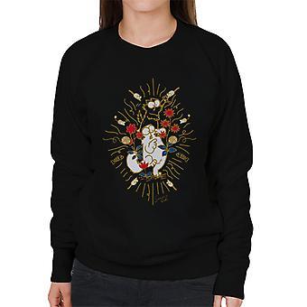 Simon's Cat & Kitten In The Wild Women's Sweatshirt