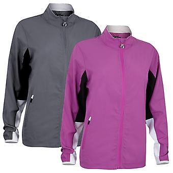 Island Green Womens 2019 Golf FZ Water Repellent Top