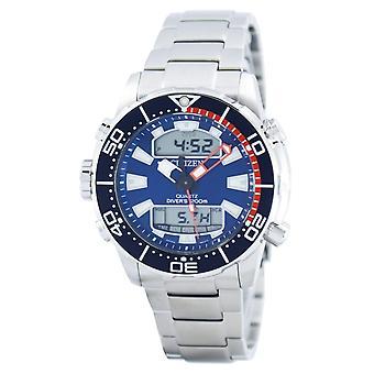 Citizen Aqualand Promaster Diver&s 200M Analog Digital JP1099-81L Men's Watch