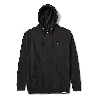 Diamond Supply Co Micro Brilliant Overdye Hoodie Noir