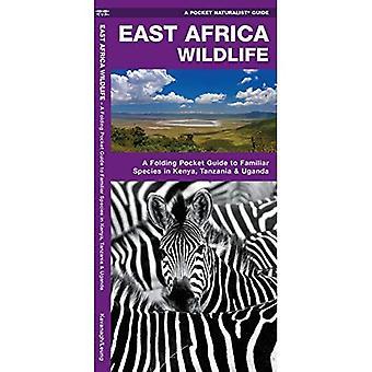 East Africa Wildlife: A Folding Pocket Guide to Familiar Species in Kenya, Tanzania & Uganda (Pocket Naturalist...