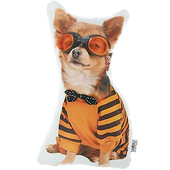 Costume Dog Printed Decorative Throw Pillow